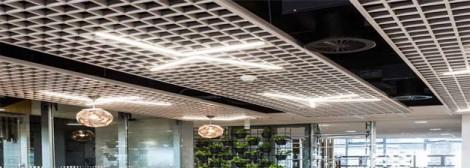 Metal Grid Ceilings